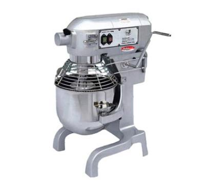 Bakemax BMPME020 20-Qt Planetary Mixer w/ 3-Speeds & 1.5-HP Motor, Attachments