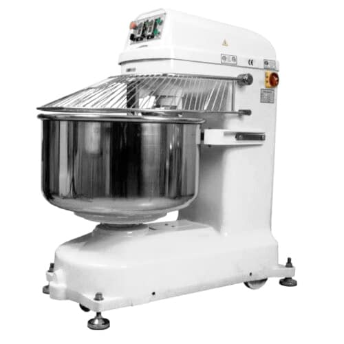 Bakemax BMSM070 132-lb Capacity Spiral Mixer, Heavy Duty Agitator & Bowl, 220v/3ph