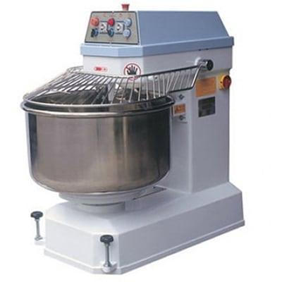 Bakemax BMSM280 Countertop Spiral Mixer - 620-lb Dough Capacity, 2-Speed, Stainless, 220v/3ph