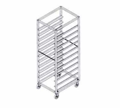 Doyon 1818SS Full Height End Loader Pan Rack For 18-Full Size Pans, Stainless