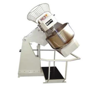 Doyon AB150XA Hydraulic Lift 520-lb Spiral Mixer, Cast Iron, 53.63-in Rail Drop