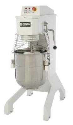 Doyon BTFP60 60-qt Vertical Pizza Mixer w/ 20-Speeds & Stainless Bowl, Cast Iron Frame