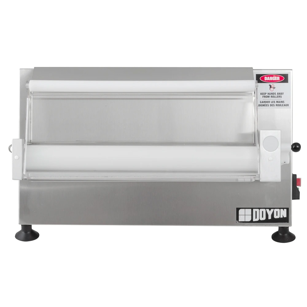 "Doyon DL18SP Countertop Dough Sheeter, 17"" Maximum, 250 Pieces/Hour"