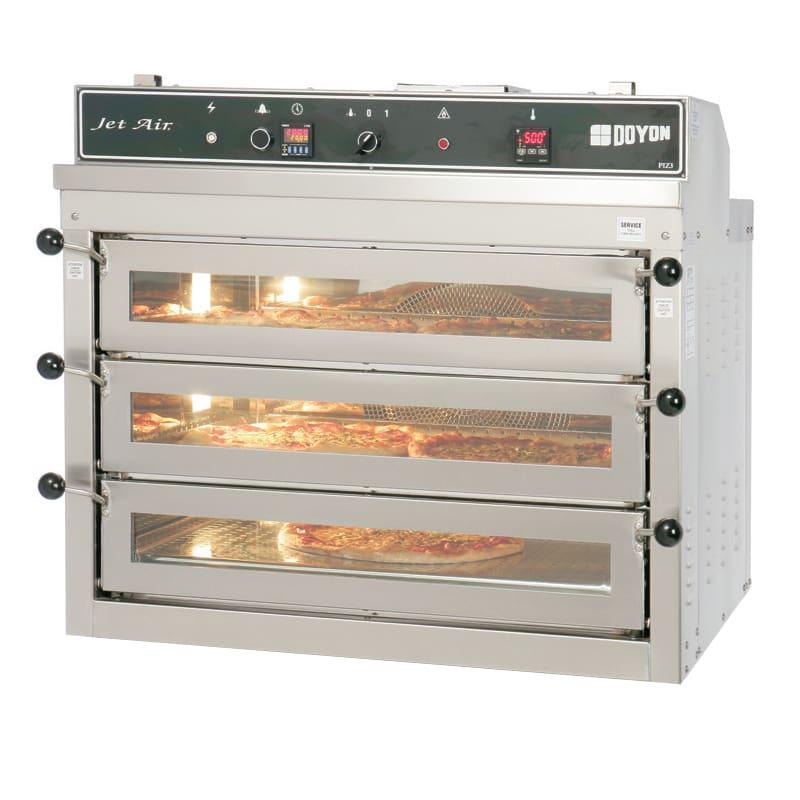 Doyon PIZ3 Triple Deck Pizza Oven, 120/208v/3ph