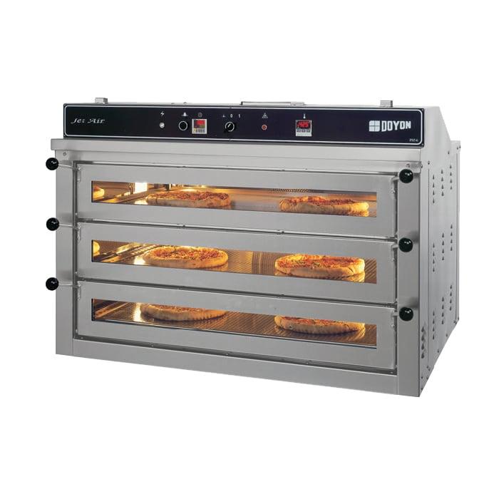 Doyon PIZ6 Triple Deck Countertop Pizza Oven, 208v/3ph