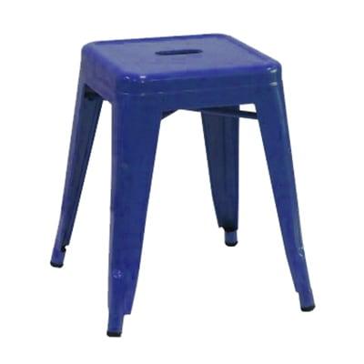 Aaf Mc18 18 Quot Barstool Recycled Steel Blue Coating