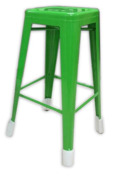 """AAF MC24 24"""" Barstool - Recycled Steel, Green Coating"""