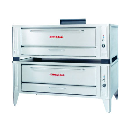 Blodgett 1060 Double Pizza Deck Oven, NG