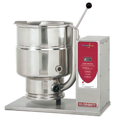 Blodgett KTT-12E 12 Gallon Table Top Manual Tilting Kettle, Reinforced Rim, 240v/3ph