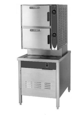 Blodgett 6DS SC Manual Direct Steam Convection Steamer W/ 24 In Cabinet Base