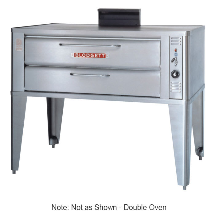 Blodgett 911P DOUBLE Double Pizza Deck Oven, NG