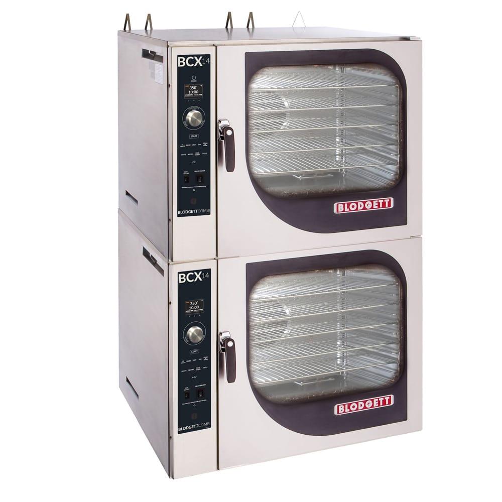 Blodgett BCX-14E Double Full-Size Combi-Oven - Boiler Based, 208v/3ph