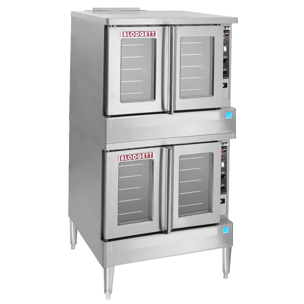 Blodgett BDO-100-E Double Full Size Electric Convection w/ Legs - 208v/3ph
