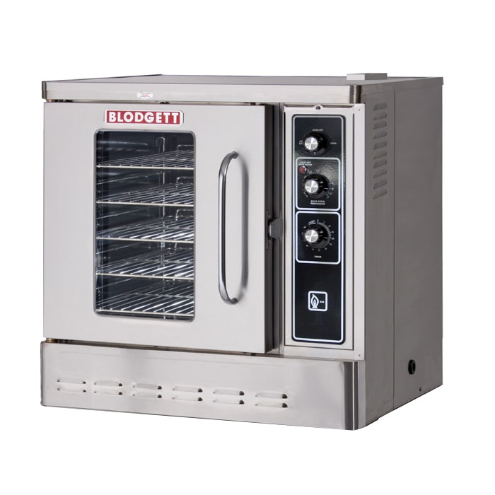 Blodgett DFG-50 SGL Half Size Gas Convection Oven, NG