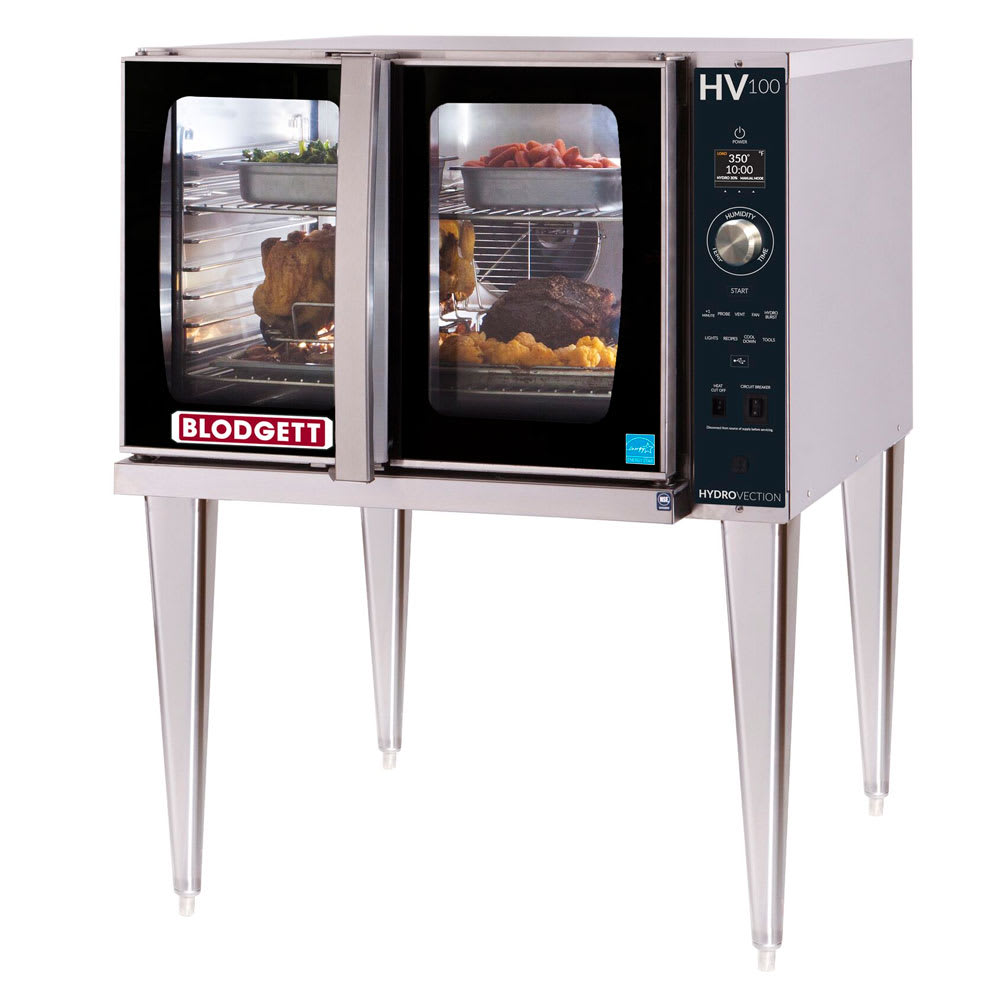 Blodgett HV-100G SGL HydroVection Full Size Gas Convection Oven - LP