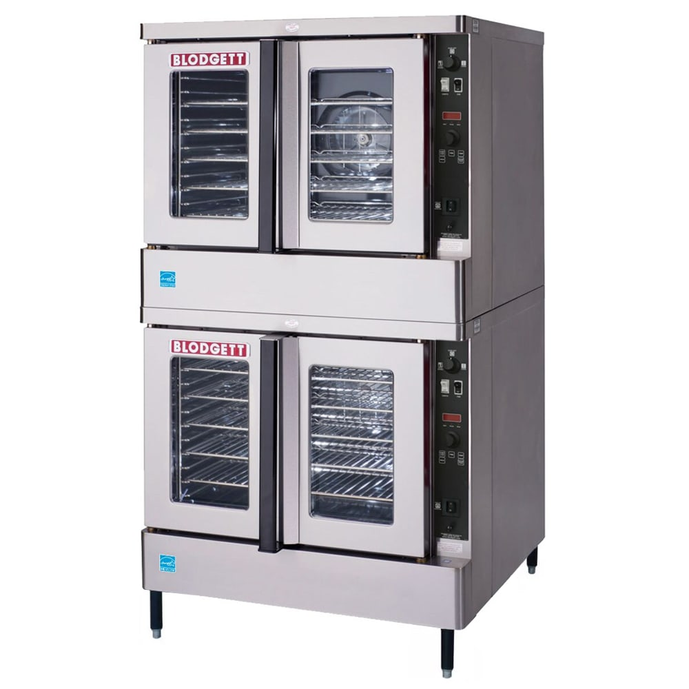 Blodgett MARK V-100 DBL Double Full Size Electric Convection Oven - 208v/1ph