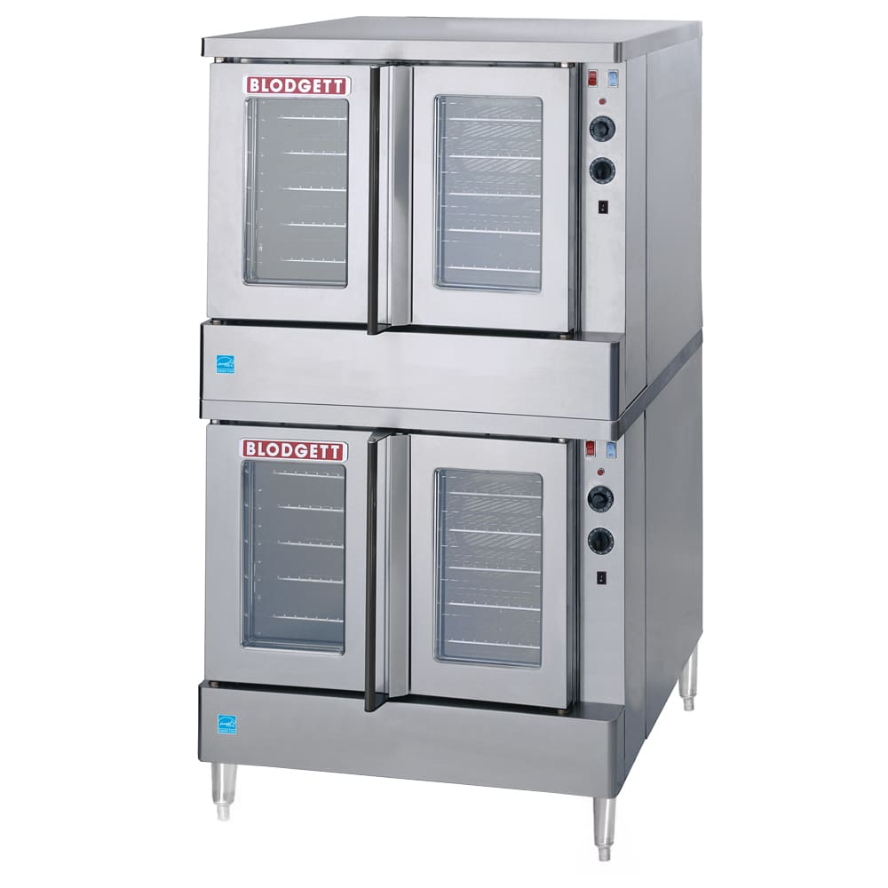 Blodgett SHO-100-E DBL Double Full Size Electric Convection Oven - 208v/3ph