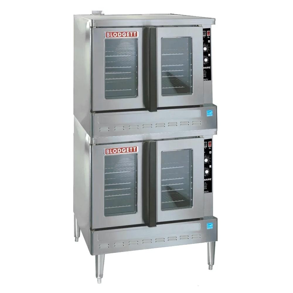 Blodgett ZEPH-100-G-ES DBL Double Full Size Gas Convection Oven - LP