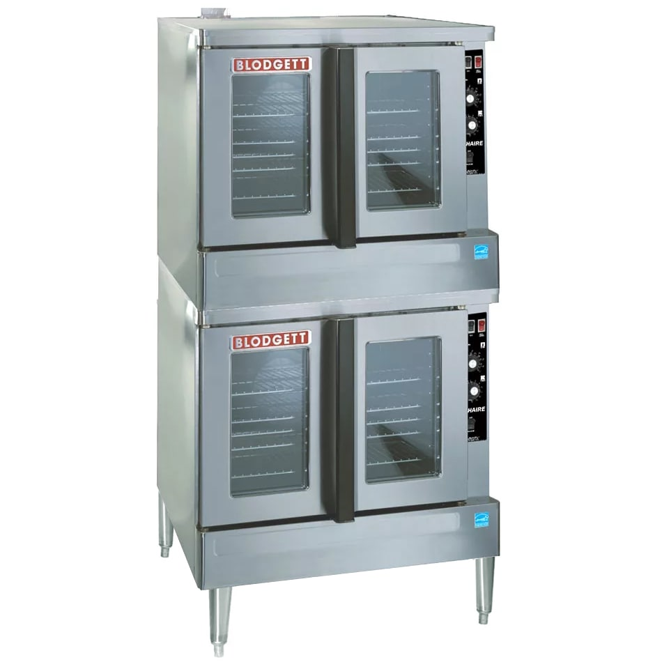 Blodgett ZEPHAIRE-100-E Double Full Size Electric Convection Oven - 208v/1ph