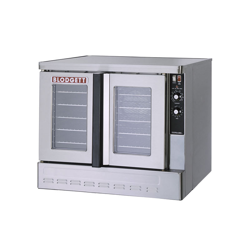 Blodgett ZEPH-100-G BASE Full Size Gas Convection Oven - NG