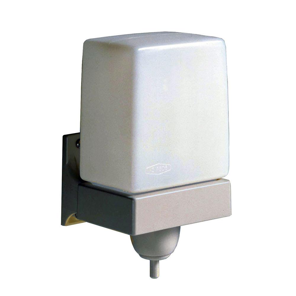 Bobrick B-156 Surface-Mounted Soap Dispenser w/ 24-oz Capacity, Translucent/Beige