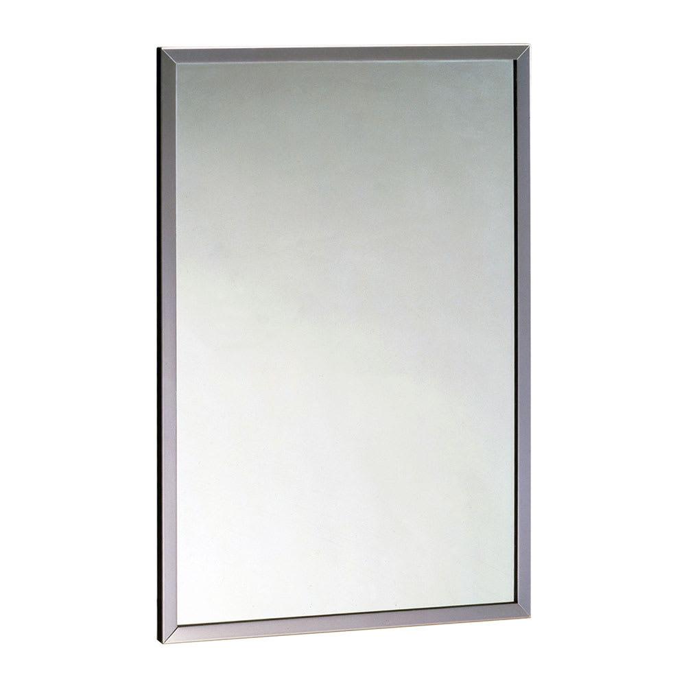 Bobrick B1654836 B-165 Series Channel-Frame Mirror, 36\