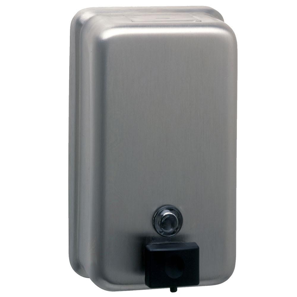 Bobrick B-2111 Classic Series Surface Mounted Soap Dispenser, Vertical