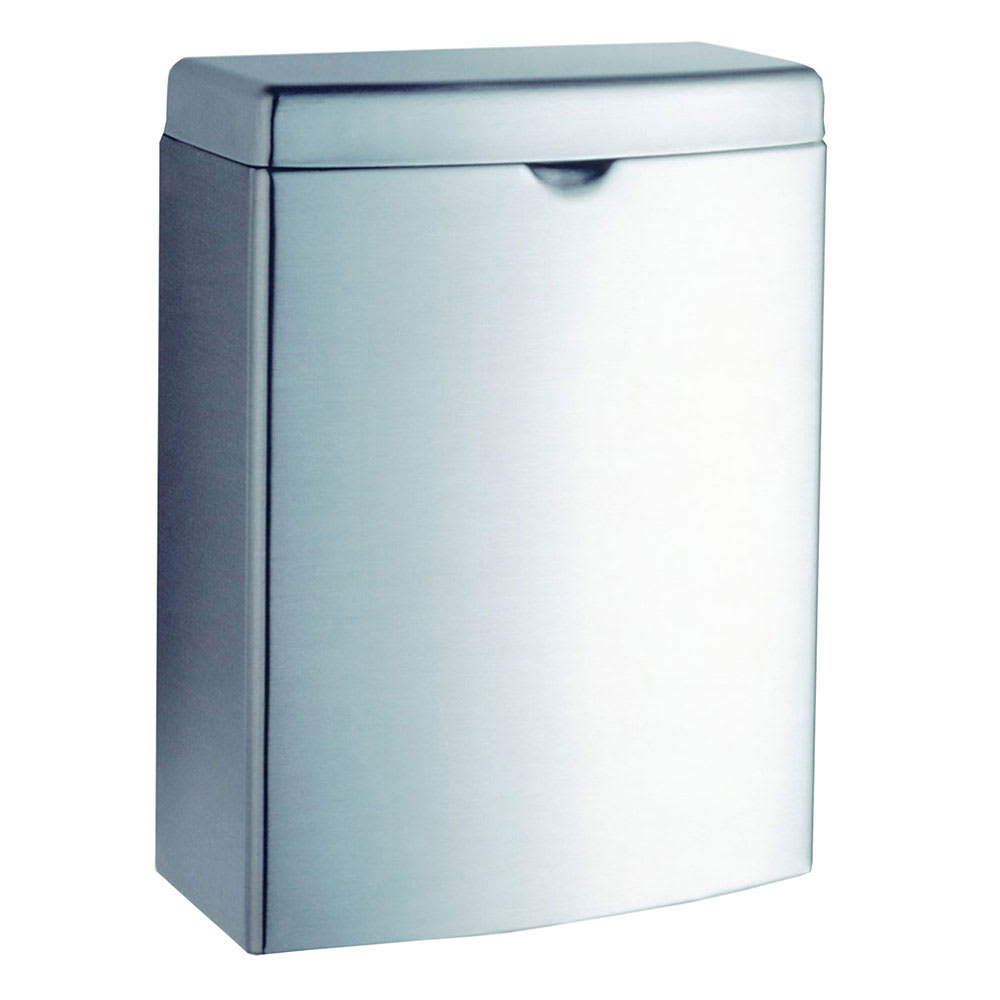 Bobrick B270 Contura Series Surface Mounted Sanitary Napkin Disposal Unit