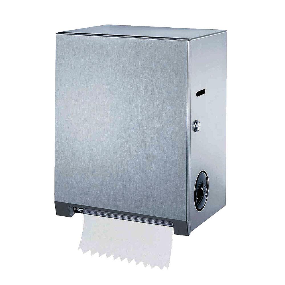 Bobrick B-2860 Surface-Mounted Paper Towel Dispenser, Stainless