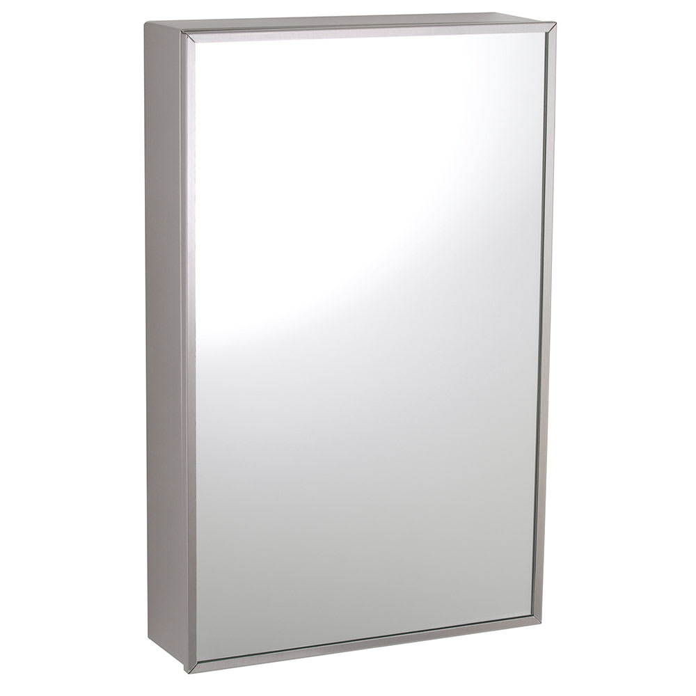 Bobrick B 299 Surface Mounted Stainless Steel Medicine Cabinet