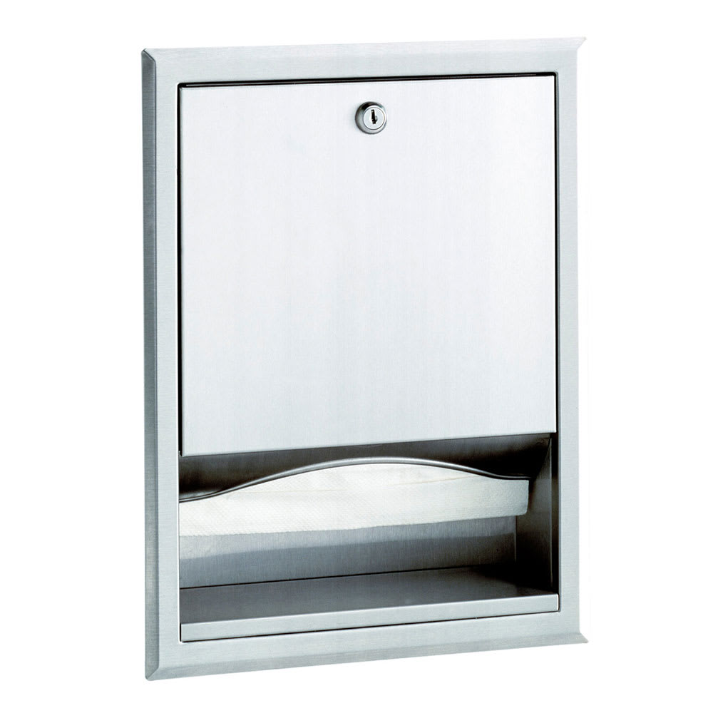 Bobrick B359 Classis Series Recessed Paper Towel Dispenser