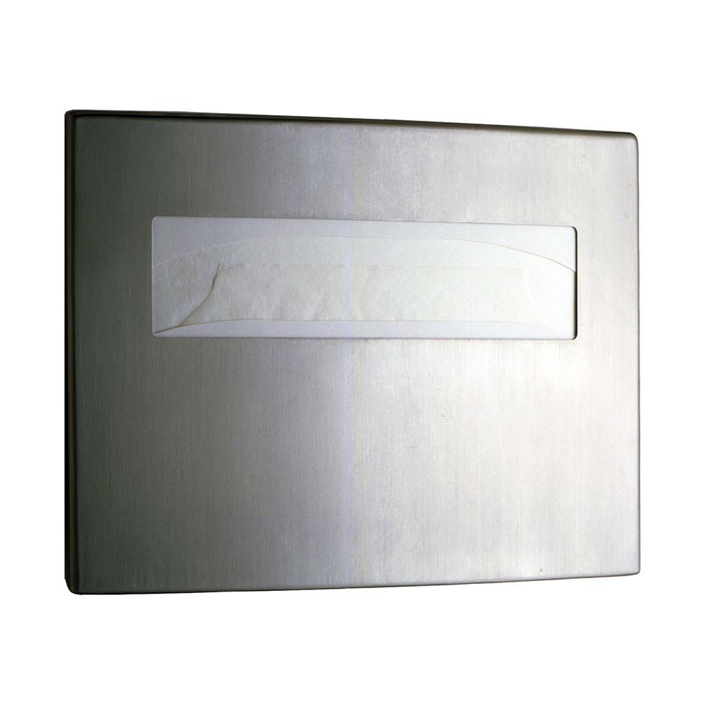Bobrick B4221 Contura Series Surface Mounted Toilet Seat Cover Dispenser