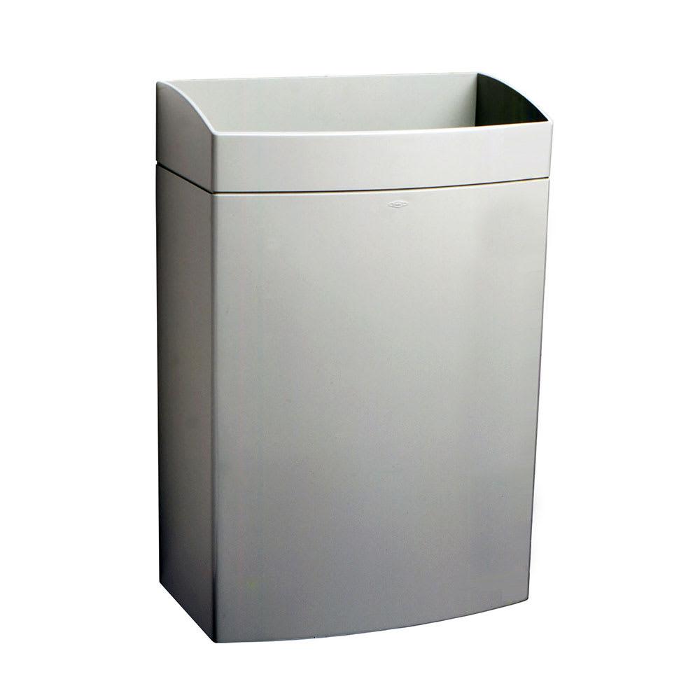 Bobrick B5277 13 Gallon Mounted Bathroom Trash Can Katom