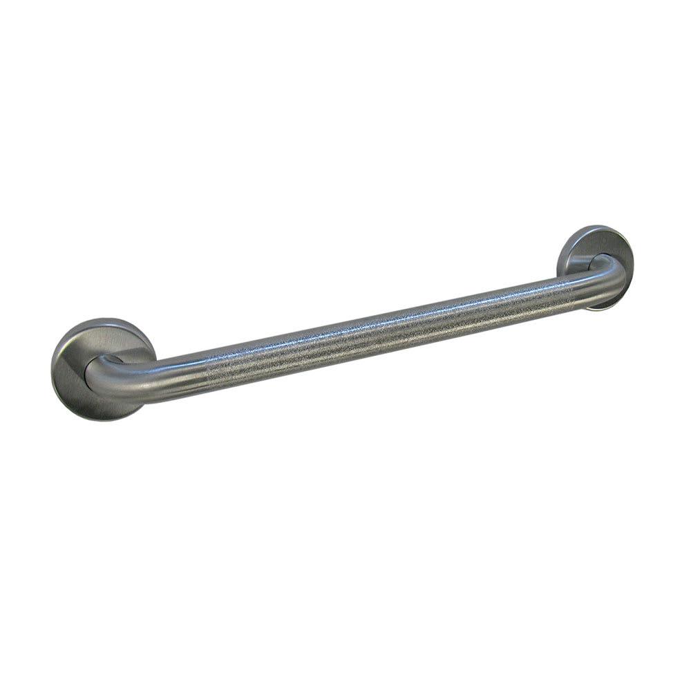 "Bobrick B-5806.99X30 Grab Bar, Peened Gripping Surface, 1-1/4"" Diameter, 30""L"