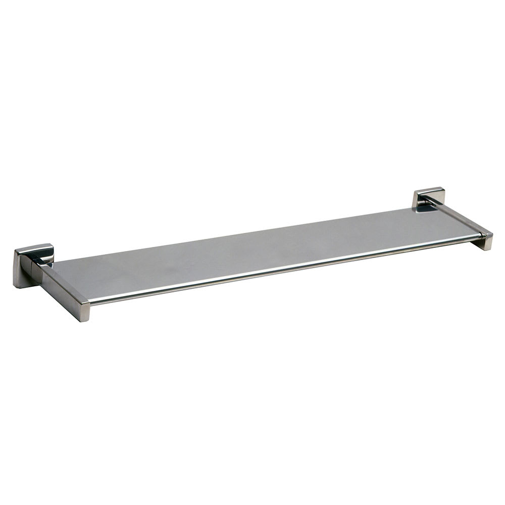 Bobrick B-683X24 Surface Mounted Toiletry Shelf, Stainless Steel