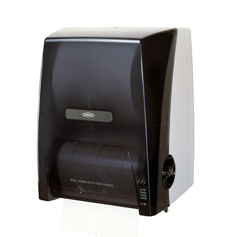 Bobrick B-72860 Surface Mounted Roll Paper Towel Dispenser, Plastic