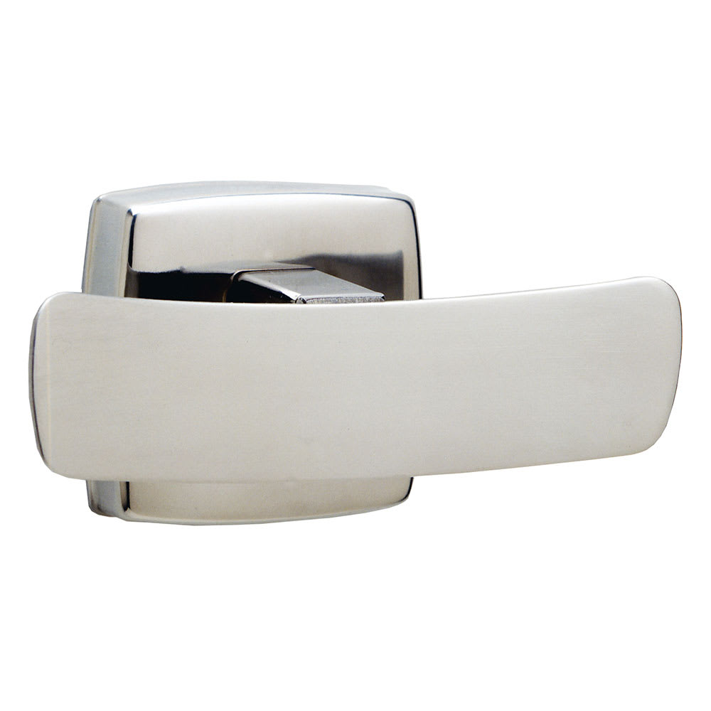 Bobrick B7672 Classic Series Double Robe Hook, Polished Stainless