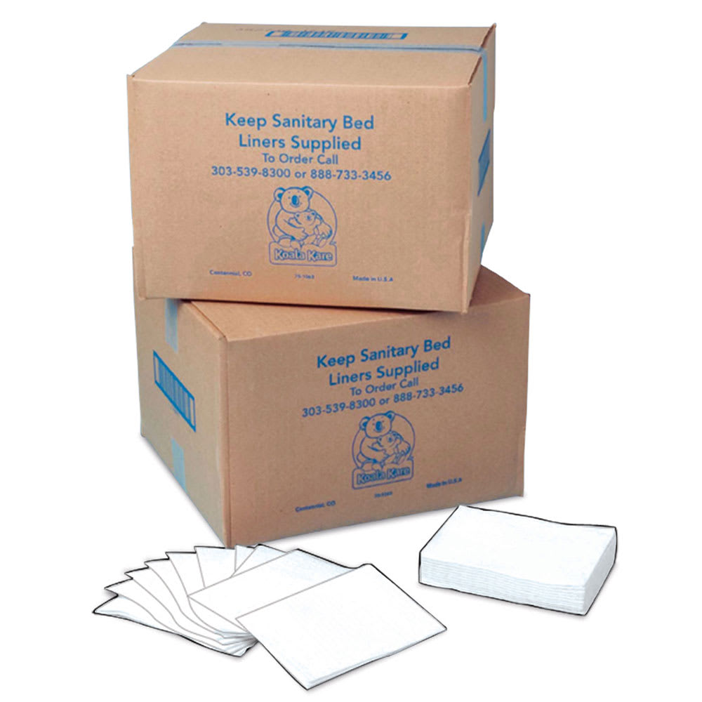 Bobrick KB150-99 Sanitary Bed Liners for Baby Changing Station