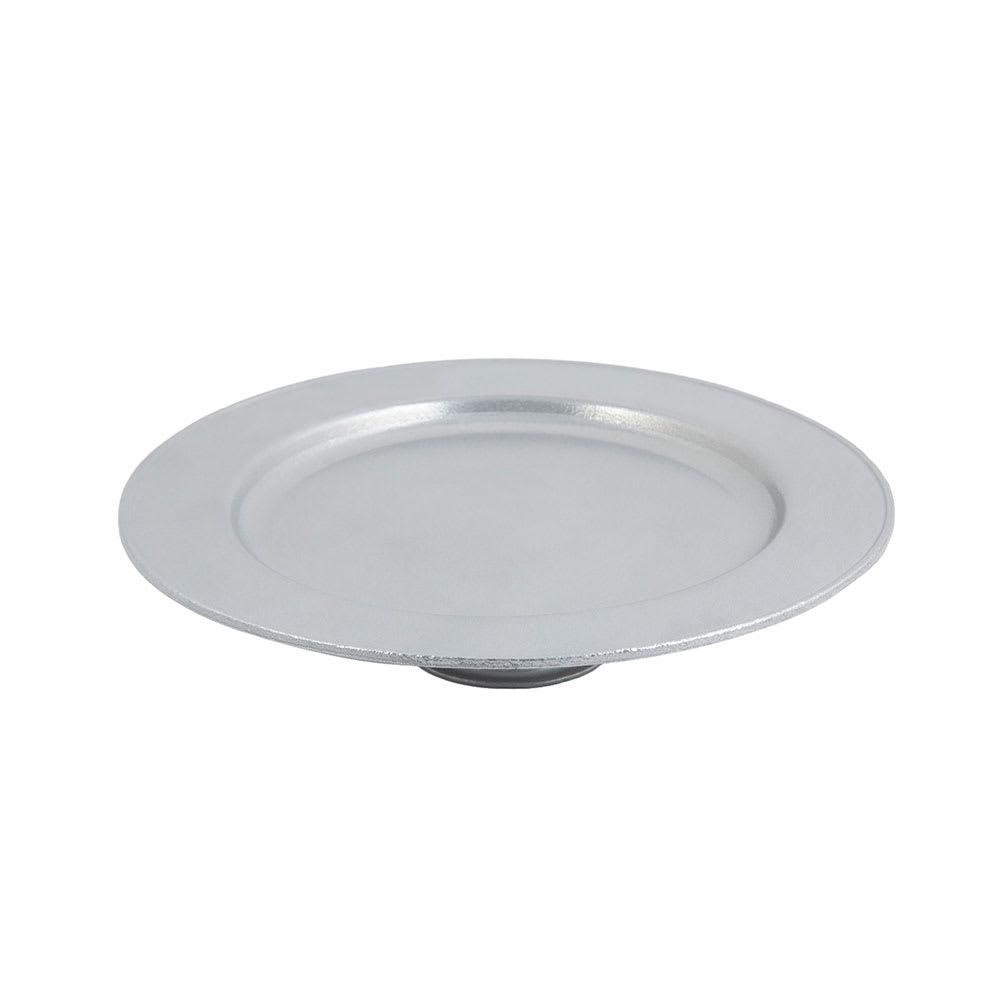 "Bon Chef 10234001P 13 x 2-3/4"" Cake Stand, Aluminum/Pewter-Glo"