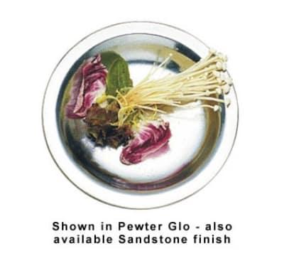 """Bon Chef 1080S WH Salad Plate, 7-1/8"""", Aluminum/White"""