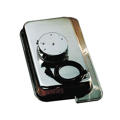 Bon Chef 11006E Rectangular Dripless 2 Gallon Water Pan w/ Electric, Heater