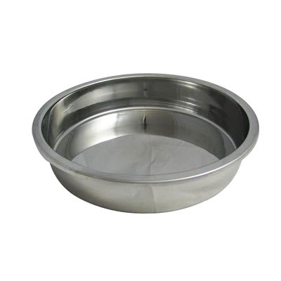"Bon Chef 12002D 15.25"" Round Water Pan for #12000 Chafer, Stainless"