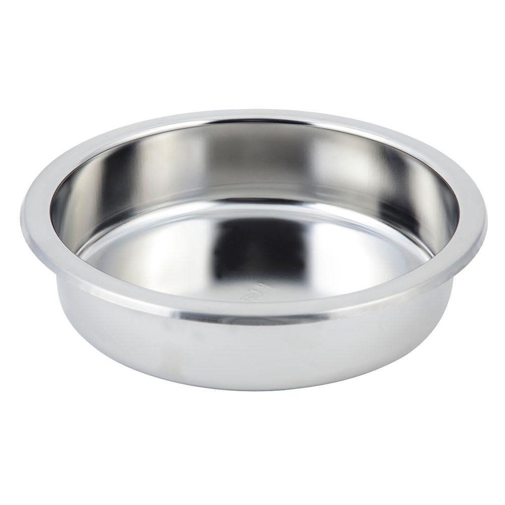 "Bon Chef 12021 10.75"" Round Chafer Food Pan"