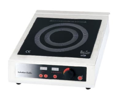 Bon Chef 12082 Countertop Commercial Induction Cooktop w/ (1) Burner, 110v
