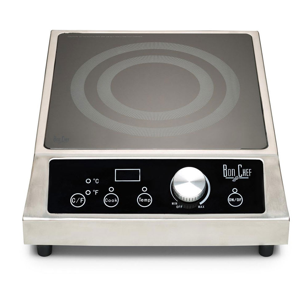 Bon Chef 12084 Countertop Commercial Induction Cooktop w/ (1) Burner, 208 240v/1ph