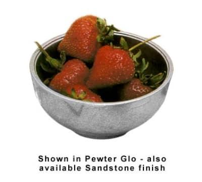 Bon Chef 15002BS WH 12-oz Sugar Bowl, Aluminum/White