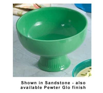 Bon Chef 150069059P 3-Qt Soup/Salad Bowl, Aluminum/Pewter-Glo