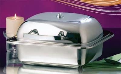 Bon Chef 20302 Half Size Chafer w/ Lift-off Lid & Induction Heat