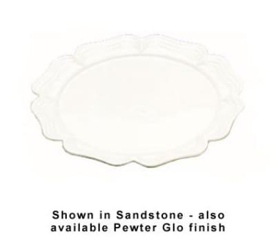 "Bon Chef 2061P 18"" Round Platter, Aluminum/Pewter-Glo"