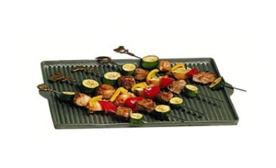 "Bon Chef 2082P Grill Pan, 15 x 19"", Pewter-Glo Finish"